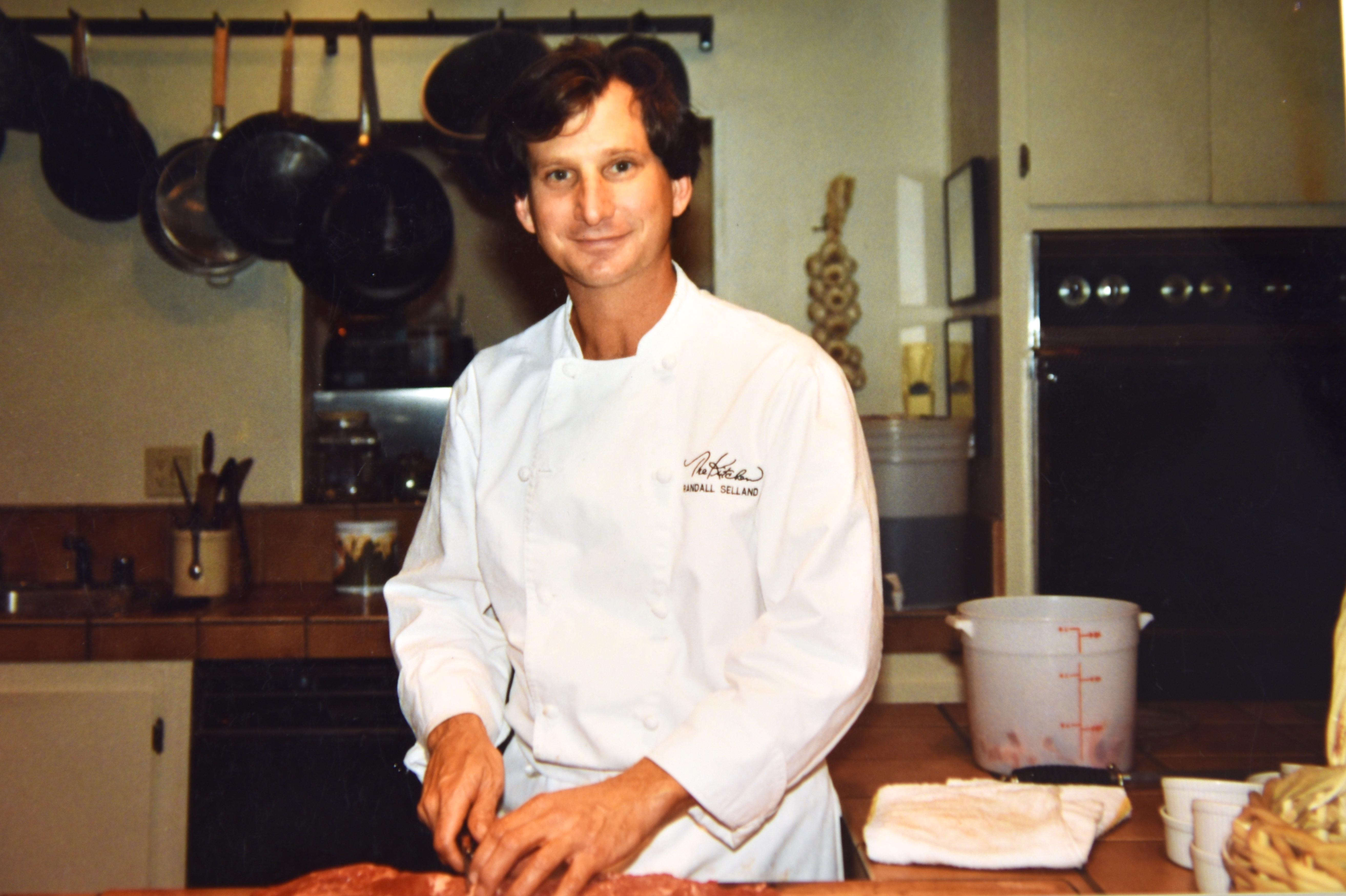 Chef Randall Selland at the original Kitchen location